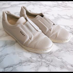 DKNY white sneakers